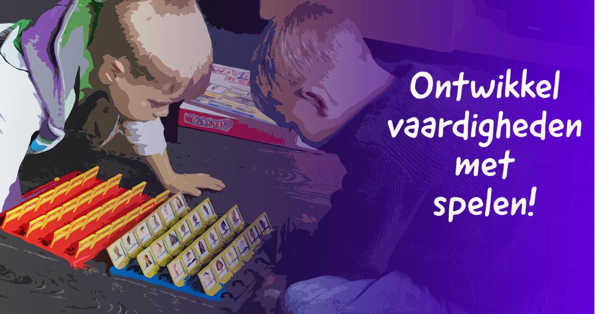 thuis onderwijs door samen spelen!